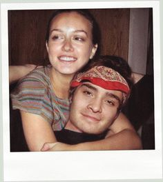 chuck and blair.. THE best photo I've ever seen