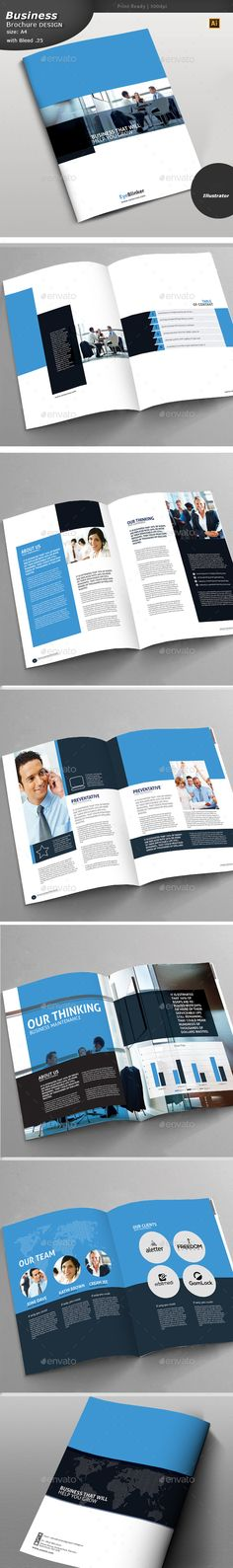 Square Trifold Brochure Brochure Template Brochures And Ai