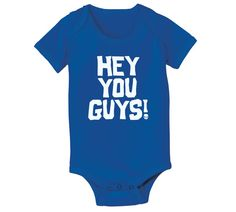 HEY YOU GUYS - funny the goonies movie cute maternity newborn baby girls boys gift infant outfit clothes - Baby Snap One Piece e1640 on Etsy, $8.90