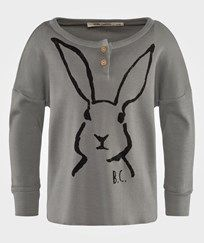 Bobo Choses - T-shirt LS buttons Hare <3 <3 <3