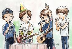 CNBLUE FAN ART♡