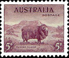 Australia 1938 SG 189 Marino Sheep Fine Mint SG 189 Scott 172 Other British Empire Commonwealth and colonial Stamps here Vintage Stamps, Vintage Labels, Stamp Values, Sheep Art, Buy Stamps, Commonwealth, Stamp Collecting, King George, Queen Elizabeth