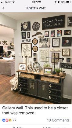 Gaines, Modern Farmhouse, Farmhouse Ideas, Gallery Wall, Frame, Painting, Home Decor, Homemade Home Decor, Painting Art