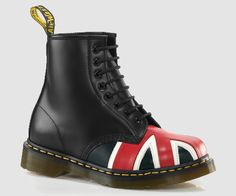 The ultimate Docs - new and made in the UK! WITH A UNION JACK!!! MUST HAVE!!! COVET COVET COVET!!!!