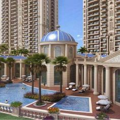 ATS Grandstand is located in Sector Dwarka Expressway Gurgaon Developed over 13 acres of land, ATS Grandstand offers exclusive 3 BHK Apartments and 4 BHK Apartments with various size options 1550 sqft, 1750 sqft, to 2850 sq. Apartments For Sale, Luxury Apartments, Luxury Homes, Post Free Ads, Real Estate Houses, Acre, Taj Mahal, Floor Plans, Marigold
