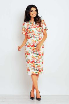 Daydress 61190 Infinite You Casual Chic Outfits, Business Casual, Wrap Dress, Shoulder Dress, Orice, Dresses, Fashion, Vestidos, Moda