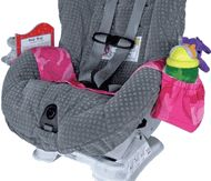 Mom 1st bday for girls for thier new carseats .... @Rhonda Peters Car Seat Kiddie Kangaroo Cup, Book & Toy Holder