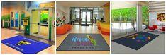 School Custom Mats Custom Mats, Custom Logos, Rugs And Mats, Custom Carpet, School Logo, Contemporary Rugs, School Spirit, Business Logo, Rugs On Carpet