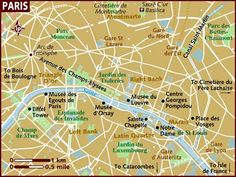 Map of Paris' famous sites as our seating arrangement! What do you think?