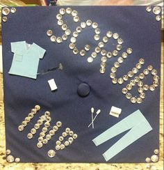 Graduation Cap Decor Ideas: Surgical Tech- Class of New Grad Nurse, College Graduation, Graduation Hats, Graduation Ideas, Graduation Cap Designs, Graduation Cap Decoration, Nurse Party, Surgical Tech, Nursing School Tips