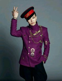 GD really suits in purple