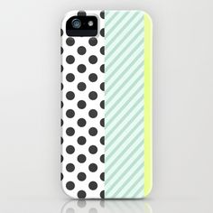 DOTS & STRIPES iPhone & iPod Case