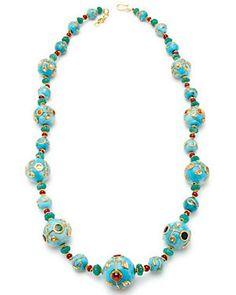 Maharaja 'Tripura' 22K 75.60 ct. tw. Diamond & Gemstone Necklace