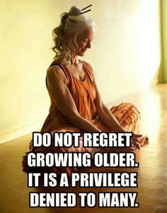Growing old is grand
