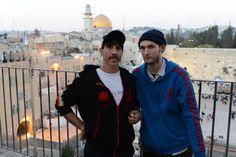 Anthony Kiedis & Josh Klinghoffer from RHCP