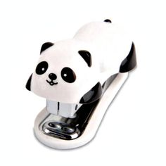 How adorable are these panda staplers? They are a perfect back to school treat.  You will receive one panda stapler and a box staples.  The stapler measures approximately 6cm in length and takes size 10 mini staples.  For more stationery, please visit: www.etsy.com/uk/shop/PinksCraftBoutique?ref=seller-platform-mcnav&section_id=22284053