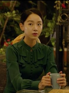 Lee Yeon-Seo (Shin Hye-sun)'s flare dress in episode 10 of 'Angel's Last Mission: Love' is a feminine piece with vintage vibes. Golden Life, Sun Flare, Kim Myung Soo, Angel S, Ioi, Vintage Vibes, Korean Actresses, Love S, Korean Drama