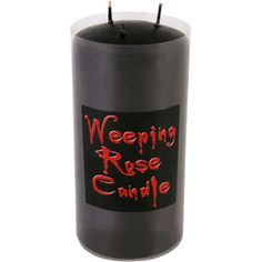 Large Weeping Rose Candle