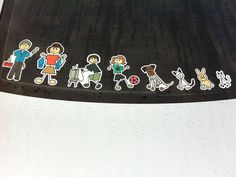 For those of you who wanted to know where we ordered our family stickers on my van:  Full color Family Car Decals