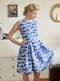 Vintage dress 50's, my own design