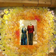 Anthropologie US Autumn window display | International Visual