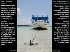 Where's your anchor?  +  ¿Dónde está su ancla?  +  http://www.biblegateway.com/passage/?search=col%201:21-23