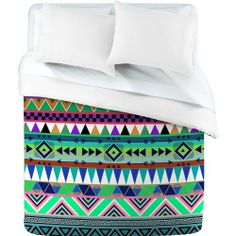 DENY Designs Bianca Green Esodrevo Duvet Cover, King by DENY Designs. $216.60. Top full color; bottom white. Manufacturing 6 color dye process, custom printed for every order. Metal snaps for closure. Fabric ultra soft, 100-percent polyester microfiber. Closure metal snaps seen in snap closure view. Turn your basic, boring down comforter into the super stylish focal point of your bedroom with this deny designs duvet cover. Custom printed when you order it, this duvet cove...