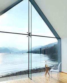 A Scottish living room with a view of Loch Duich [750x930]