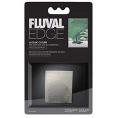 $5.18-$7.49 Fluval Edge Algae Cleaner works to clear phosphate, nitrate and nitrite in your aquarium, helping to make your water crystal clear. The Fluval Edge Algae Cleaner is suitable for all types of aquarium environments and helps to reduce odors, and provide easier tank maintenance.