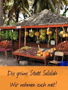 Die grüne Stadt Salalah: Johannes Klaus von Reisedepeschen nimmt euch mit und zeigt euch die Stadt im Oman