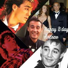 George's best buddy & other half of Wham. Andrew Ridgeley, George Michael, Gorgeous Men, Best Friends, Pop, Band, Stars, Movie Posters, Beauty