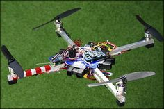 Arduino controlled quadcopter!