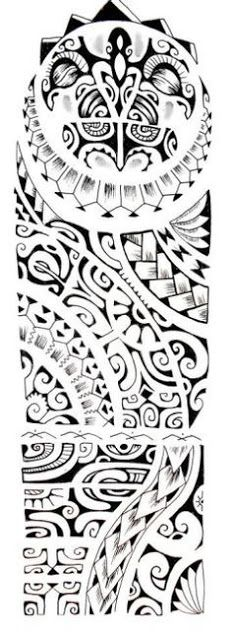 marquesan tattoo designs for men - Google Search