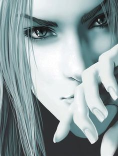 Sephiroth Face... I love this take on what Sephiroth would look like