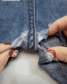 Best 12 beautiful stitching diy ideas 😍 – skillofking ways to mend and repair clothes using embroidery – ArtofitYou should know these stitch hacks – Artofit Sewing Stitches, Embroidery Stitches, Sewing Patterns, Techniques Couture, Sewing Techniques, Sewing Hacks, Sewing Crafts, Sewing Tips, Sewing Tutorials