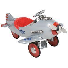 Silver Pursuit Pedal Plane AFCSP