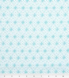 Lisette Collection- Spiral Aqua Flowers Lawn : Fashion Collections : apparel fabric : fabric :  Shop | Joann.com