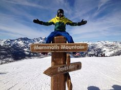 Me, up on Mammoth Mountain