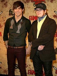 Wow. There's Pete, looking all amazing, and then   What happened to Patrick