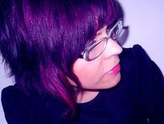 #purplehair