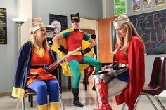 "Glee, Season 4: ""Makeover,"" Blaine as Robin"