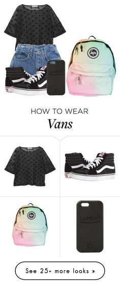 """""""concert"""" by jasmine-the-basic-penguin on Polyvore featuring MANGO, Vans and LuMee"""