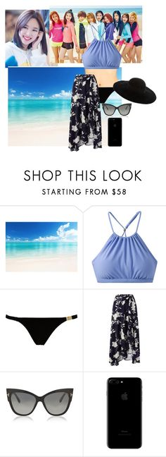 """""""Beach W/ Lilipod & The girls"""" by bear-nari ❤ liked on Polyvore featuring prAna, L'Agent By Agent Provocateur, Monsoon, Tom Ford and Eugenia Kim"""