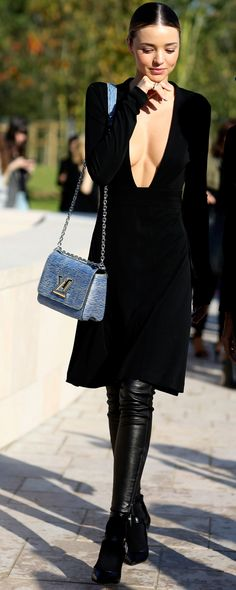 Miranda Kerr | Louis Vuitton Paris Fashion Week