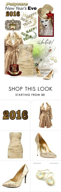 """New Year's Eve Dance Party"" by ragnh-mjos ❤ liked on Polyvore featuring Lucky Star, John Galliano, Balmain, Sebastian Milano, Penny Loves Kenny and YooLa"
