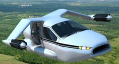 Terrafugia TF-X Plug-in Hybrid Flying Car - W, how cool, only $279,000 and change, cheaper than bridge/tunnel tolls in the long run ; )