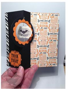 Halloween Bash #2 by Dani D - Cards and Paper Crafts at Splitcoaststampers