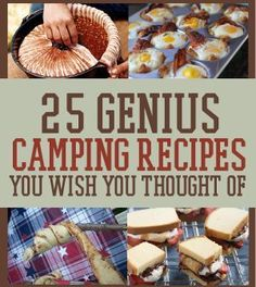 Campfire Cooking Recipes   Best, Easy Campfire Cooking Ideas   25 Snacks You'll Want To Pack For Your Next Camping Trip By DIY Ready