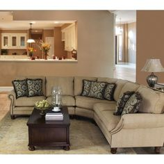 MAYO AUSTIN WHEAT SECTIONAL - SOFA SECTIONAL LIVING ROOM Gallery Furniture