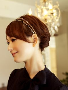 Casual Party Style   for shoulder length hair